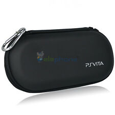 BLACK TRAVEL CARRY CASE COVER BAG POUCH FOR Sony Playstation PS Vita PCH-2000