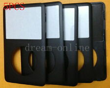 5X Front Faceplate Housing Cover for iPod Classic 6th Gen 120GB(Black)