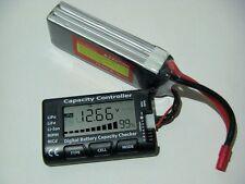 LiPo tester 2s-7s battery, batteria, batterie, checker, life, li-ion, nimh, nicd