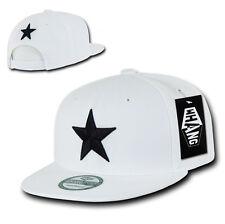 California Republic SNAPBACK Hat vtg 3D CALI STAR Flat Bill Cap bear WHITE