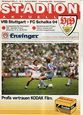 BL 86/87  VfB Stuttgart - FC Schalke 04