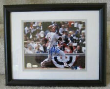 PHILADELPHIA PHILLIES MIKE SCHMIDT AUTOGRAPHED  FRAMED PHOTO STEINER
