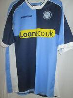 Wycombe 2003-2005 Home Football Shirt Size Small Boys  /9870