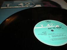 "T 42 feat Sharp Run To You 12"" VINYL Fargetta, run, devotional mixes Italodance"