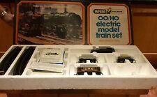 Wrenn Railways OO/HO Electric Model Train Set With Oval Track In Original Box