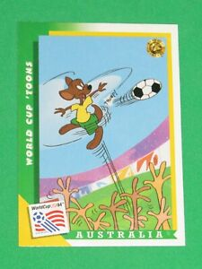 1994 WORLD CUP LOONEY TOONS USA SOCCER PROMO TYCO ACTION FIGURE #5 INSERT CARD