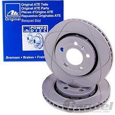 2x ATE POWER-DISC VORNE BREMSSCHEIBE AUDI A4 (B6 B7) A6 (C5) SEAT EXEO (3R2 3R5)