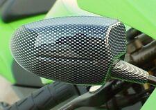 CARBON MINI MIRRORS to fit Honda Kawasaki Suzuki Yamaha