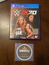 USED WWE 2K20 PLAYSTATION 4 PS4 USA SELLER FAST FREE SHIPPING!!