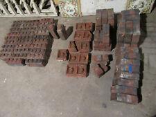~ 63 Ornate Antique Bricks Garden Decor ~ 5 Patterns ~ Architectural Salvage