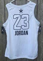 MICHAEL JORDAN NIKE ALL-STAR BULLS #23 SWINGMAN JERSEY NWT SIZE 52 / L Authentic