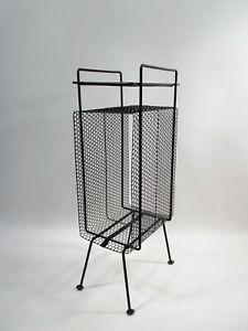 Maurice DUCHIN Richard GALEF Ravenware Perforated Metal Table MIDCENTURY Mategot