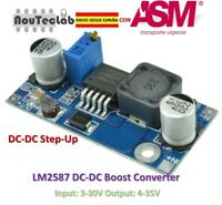 LM2587 DC-DC Boost Converter 3-30V Step up to 4-35V MAX 5A Power Supply Module