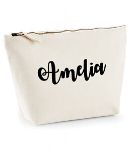 Personalised Make Up/Wash Bag *ANY Name* Mothers Day Gift Present Birthday