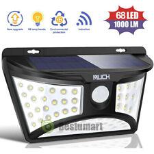 68 LED Solar Light Motion Sensor Security Outdoor Garden Wall Lamp Auto ON/OFF