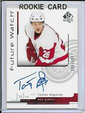 06-07 SP Authentic Tomas Kopecky Future Watch Rookie Auto # 177