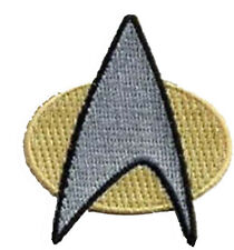 Star Trek Next Generation Communicator Aufnäher Patch