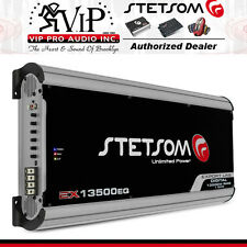 Stetsom EX13500EQ-1-Ohm Mono Amp High Power Car Audio Amplifier 14200W RMS