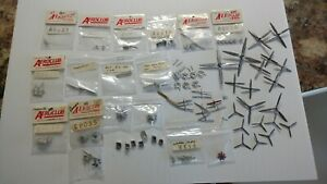 1/72 Lot of Numerous Aeroclub White Metal Accessories For Aircraft