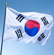 3'x5' South Korea Flag Polyester the Korean National Banner Brass Grommets A