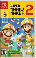 Super Mario Maker 2 Nintendo Switch Brand New Sealed