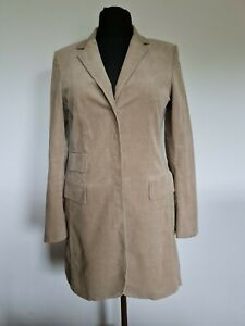 More & More Damen Mantel Gr. 40 Cord Jacke Braun #003