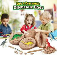 Digging Fossils Dinosaur Eggs Adventure Surprising Educational Toys Easter Kids
