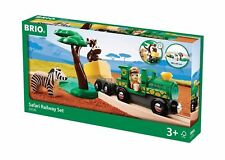 BRIO Safari Railway Set Train Set 33720