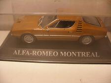 voiture 1/43 eme IXO ALTAYA ALFA-ROMEO MONTREAL