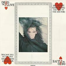 """DEAD OR ALIVE """" MY HEART GOES BANG / BIG DADDY OF THE RHYTHM """" 7"""" UK PRESS"""