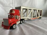 Mack Hauler Trailer Rare Disney Pixar Cars Trailer Truck Toy With Sounds