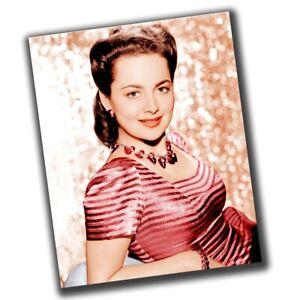 Olivia de Havilland Celebrities Retro Star Photo Glossy Big Size 8X10in β074