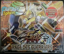 Yu-Gi-Oh Boite Boosters - Rage Des Guerriers - 1ere Edition VF Neuf  Scellée