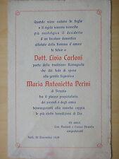 1929-NOZZE Dott.LIVIO CARLONI e MARIA ANTONIETTA PERINI di VENEZIA