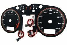 Audi TT (8N) '98-'06 design 1 glow gauges dials plasma dials kit tacho glow dash