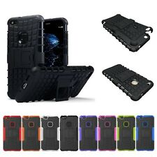 Heavy Duty Shockproof Rugged Bumper Hybrid Armor Case For Huawei P9 P10 P20 Pro