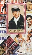 Elvis Presley Rock N Roll Music icona Calmucchia 2006 miniature Gomma integra, non linguellato FRANCOBOLLO SHEETLET