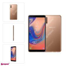 Samsung Galaxy A7 2018 SM-A750G SINGLE SIM 4G LTE 64GB Triple Camera in Gold NEU