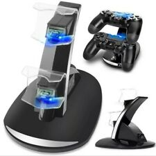 Controller Charger Dock LED Dual USB PS4 Charging Stand Station Cradle for Sony