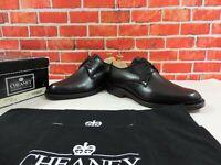 New Church's Cheaney Mens Shoes Black Derby UK 6.5 F US 7.5 F EU 40.5 F