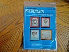 Vogart Crafts Embroidery Thread Sampler 7938 B Some are wise or Some are Otherwi