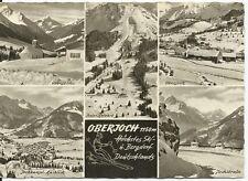 Ansichtskarte Oberjoch - Iseler Abfahrt, Jochkanzel-Ausblick u. a - schwarz/weiß