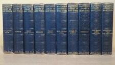 """c1930 """"THE MASTERPIECE LIBRARY OF SHORT STORIES"""" 20 VOLS COMPLETE - NICE SET"""