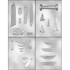 Swag Group Gum Paste and Candy Mold 4 pc Set from CK  9490 NEW