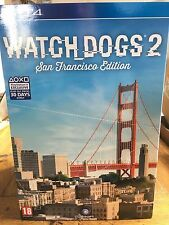 Watch Dogs 2 San Francisco Edition inc Figurine & more! - PS4 Boxed & Sealed