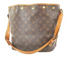 Authentic LOUIS VUITTON Petit Noe Monogram Shoulder Tote Bag Purse #37199