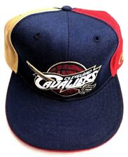 Cleveland Cavaliers Trucker Flat Bill Fitted Back 8 Basket Ball Hat (D1)