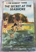 THE BOBBSEY TWINS The Secret at the Seashore, #3, (1962), vintage hardcover book
