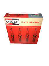 Spark Plug-Platinum Power Champion Spark Plugs 3017  Set of 4