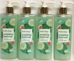(Pack of 4) Nourishing Hand Soap Cucumber Melon 10 Fl oz (296 ml) Each